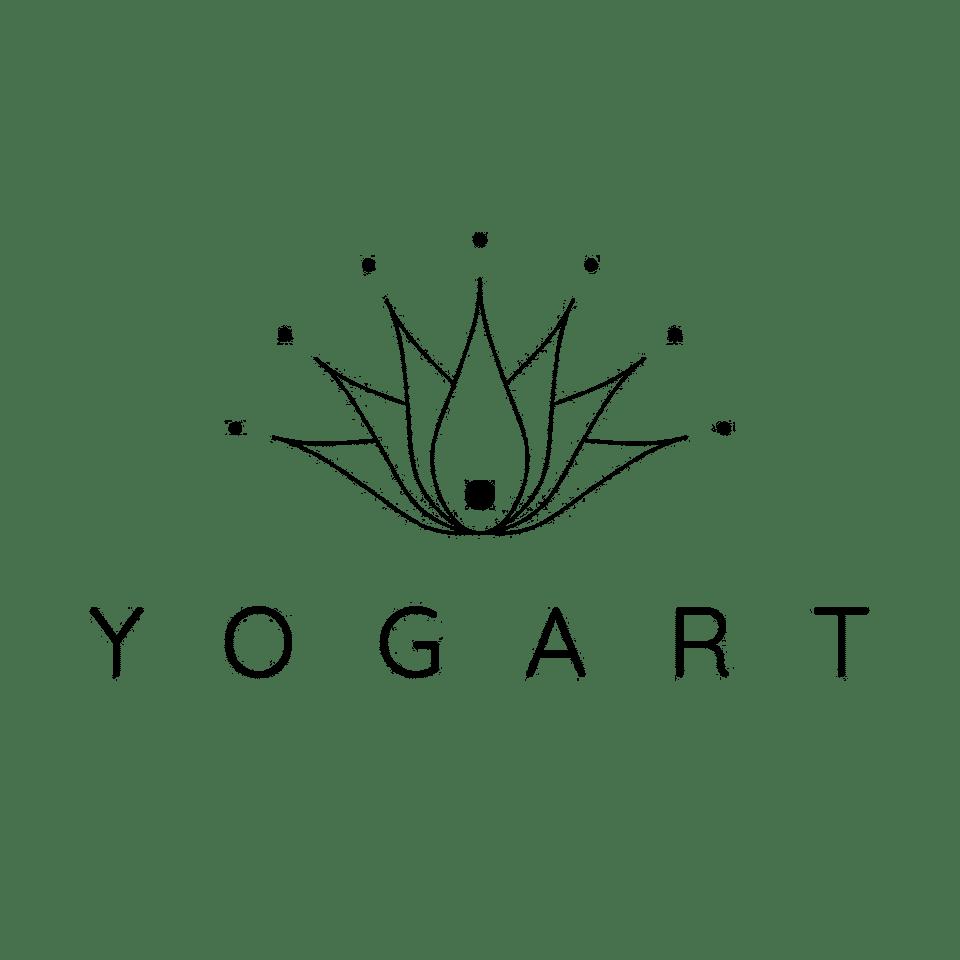 Logo YOGART version noire