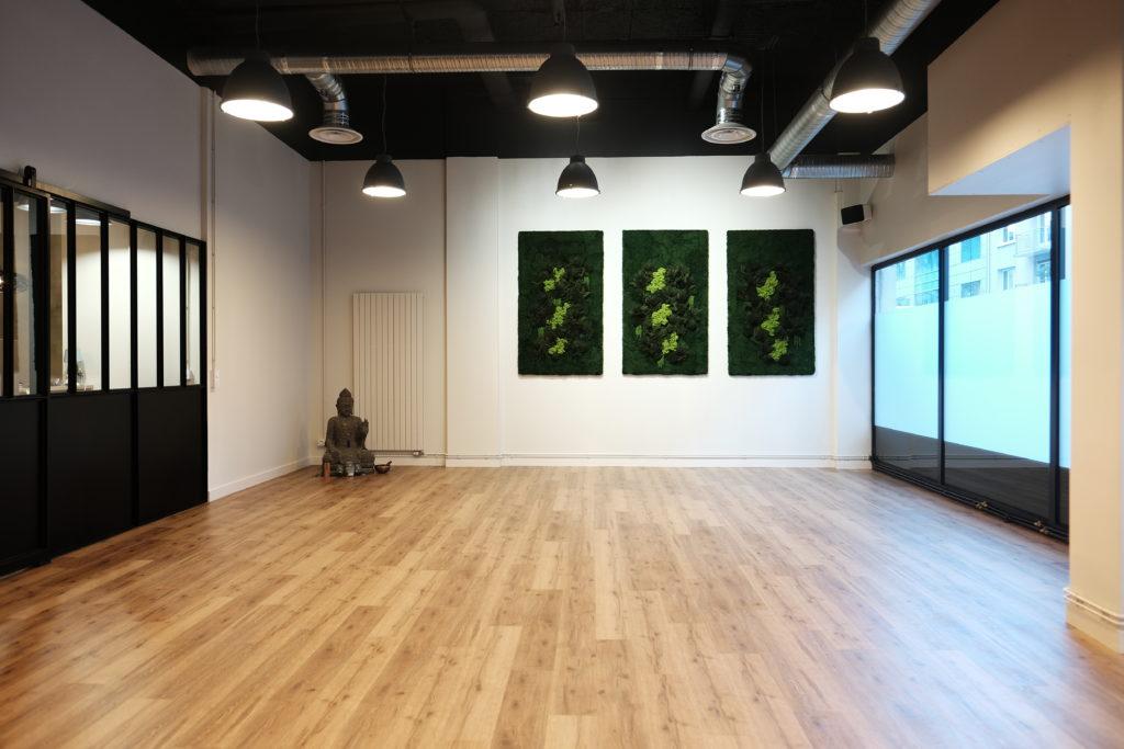 Salle au studio YOGART à Rouen